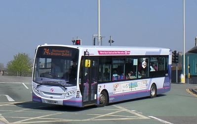 44593 - YX63HWM - Bridgend (bus station)
