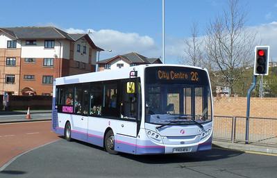44556 - YX13AFA - Swansea (bus station) - 14.4.14
