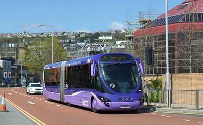 19033 - S80FTR - Swansea (bus station)