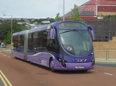 19037 - S60FTR - Swansea (The Quadrant) - 2.8.11