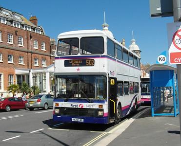 34623 - K623LAE - Weymouth (King's Statue) - 24.7.12