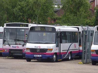 50395 - S830TCL - Southampton (Portswood depot) - 9.6.09