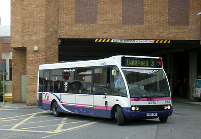 53028 - W338DWX - Yeovil (bus station) - 27.8.14