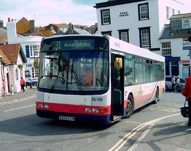 66168 - W368EOW - Lyme Regis - 28.7.07