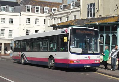 66156 - S356XCR - Weymouth (town bridge) - 4.9.09