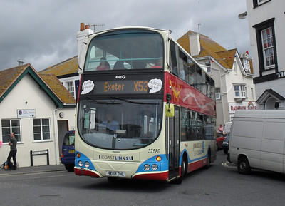 37580 - HX08DHL - Lyme Regis - 7.8.10