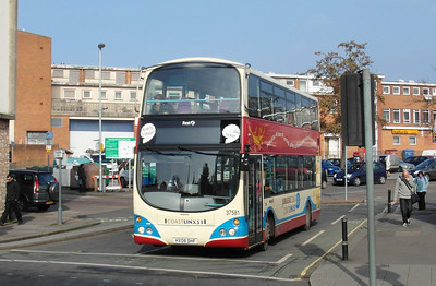 37581 - HX08DHF - Exeter (bus station) - 19.2.13