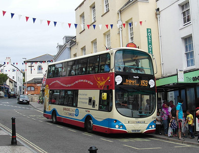 37581 - HX08DHF - Lyme Regis - 27.7.13