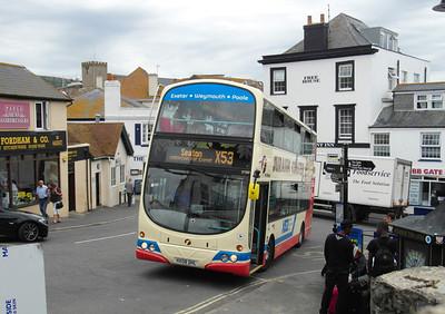 37580 - HX08DHL - Lyme Regis - 27.7.13