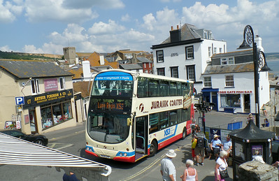 37581 - HX08DHF - Lyme Regis - 25.7.14