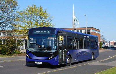 67183 - YX66WBZ - Gosport (bus station)