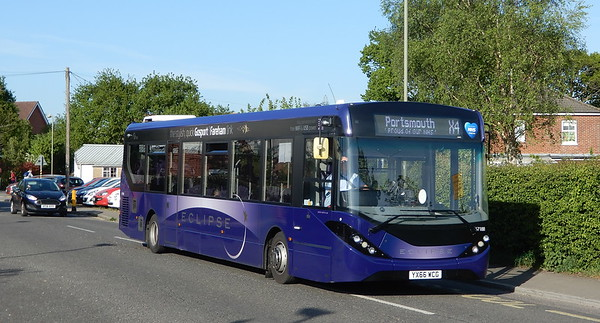 67188 - YX66WCG  - Titchfield Common (Abshot Road)
