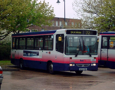 40623 - M254VWW - Gosport (bus station) - 6.5.06