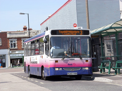 40629 - M260VWW - Portswood (St Denys Rd) - 8.5.08