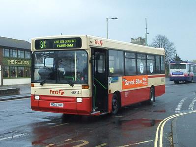 46314 - M314YOT - Stubbington - 5.4.04