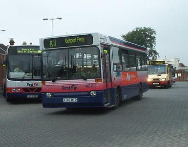 46313 - L313RTP - Fareham (bus station) - 18.7.04