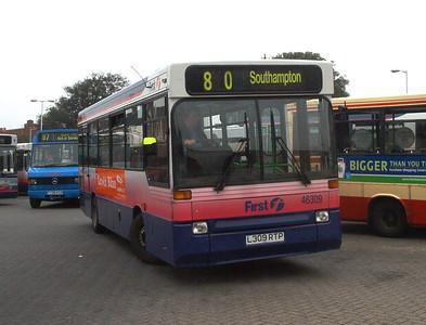 46309 - L309RTP - Fareham (bus station) - 15.4.04