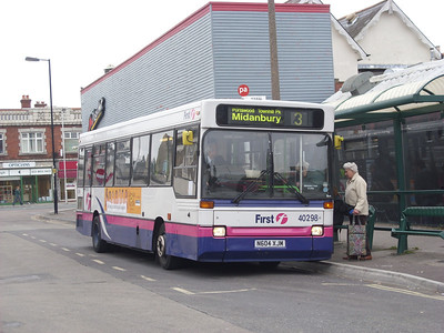 40298 - N604XJM - Portswood (St Denys Road) - 25.2.09