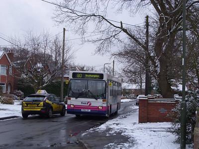 46315 - M315YOT - Old Netley (Pound Lane) - 2.2.09