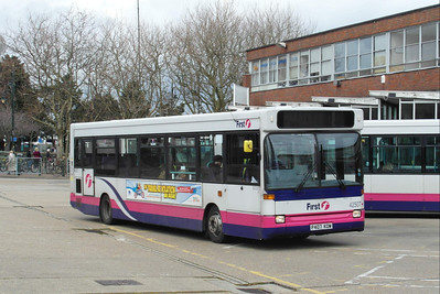 42507 - P407KOW - Gosport (bus station) - 12.4.13