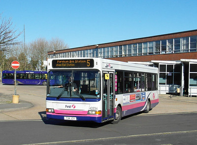 42234 - T34JCV - Gosport (bus station) - 17.2.13