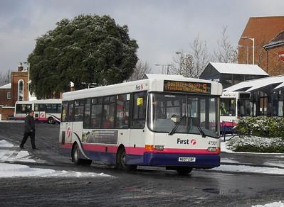 47307 - N607EBP - Fareham (bus station) - 18.12.10