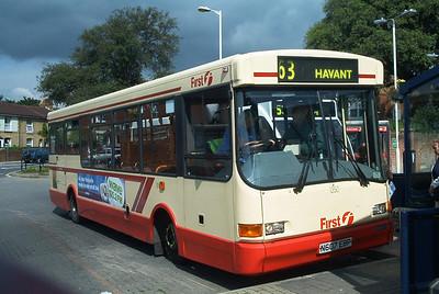 47307 - N607EBP - Fareham (bus station) - June 2003