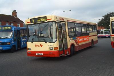 47303 - N603EBP - Fareham (bus station) - 2.4.04