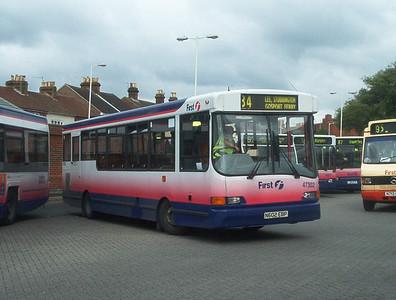 47302 - N602EBP - Fareham (bus station) - 9.7.04