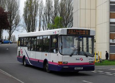 47303 - N603EBP - Cosham (bus interchange) - 26.4.10