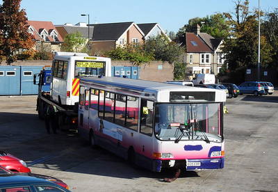 47305 - N605EBP - Portswood depot - 12.10.09