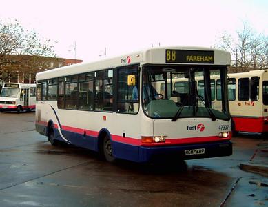 47307 - N607EBP - Gosport (bus station) - 3.12.05