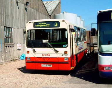45386 - JDZ2386 - Hoeford depot - 29.8.05