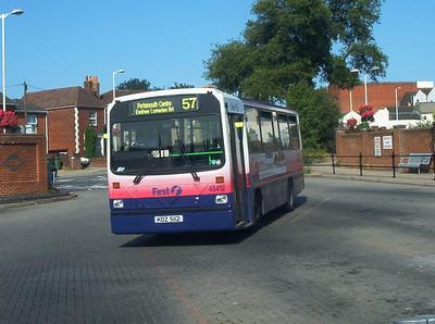 45412 - KDZ5112 - Fareham (bus station) - 24.7.04