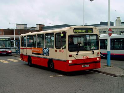 45393 - JDZ2396 - Portsmouth (The Hard) - 2.9.06