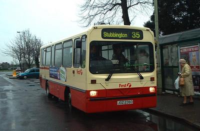 45393 - JDZ2393 - Stubbington - December 2003