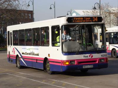 40265 - N633CDB - Gosport (bus station) - 19.2.08