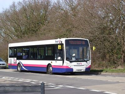 44507 - YX58HWF - Butlocks Heath (Woolston Road) - 16.3.09