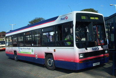 62630 - F630RTC - Fareham (bus station) - September 2003