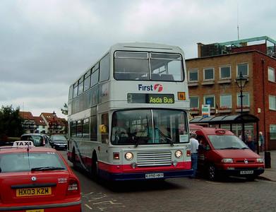 34990 - E290HRV - Hythe (Ferry Yard) - 14.9.07