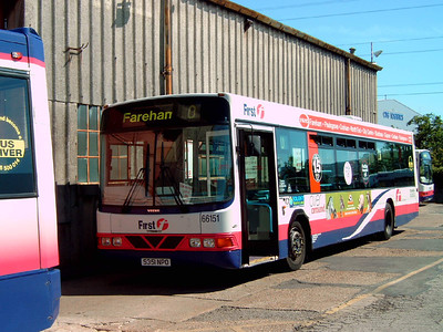 66151 - S351NPO - Hoeford depot - 29.8.05