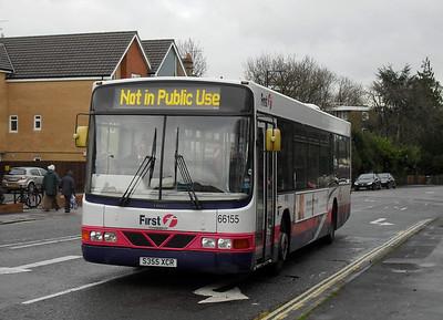 66155 - S355NPO - Portswood (Portswood Road) - 30.11.09