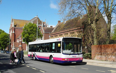 66164 - W364EOW - Portsmouth (Edinburgh Road) - 11.5.13