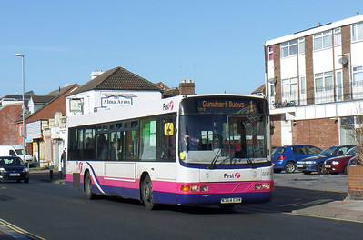 66164 - W364EOW - Eastney (Highland Road) - 22.2.14