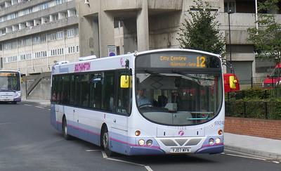 69246 - YJ07WFN - Southampton (Central railway station)