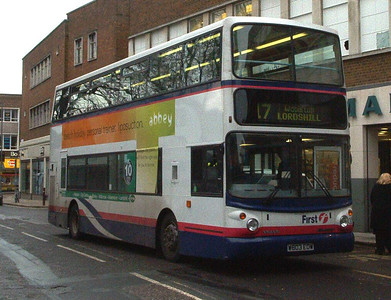 32033 - W803EOW - Southampton (city centre) - 1.2.04