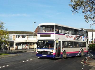 34017 - P540EFL - Stubbington - 30.10.12