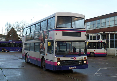 34017 - P540EFL - Gosport (bus station) -  24.12.13