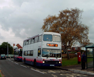 34017 - P540EFL - Bridgemary (Thorbes Avenue) - 19.11.07