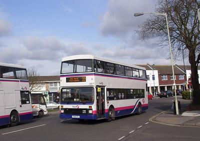 34017 - P540EFL - Stubbington - 25.3.08